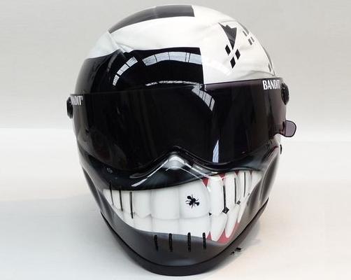 Carbon Fiber Motorcycle Helmets >> Bandit XXR Custom Painted Motorcycle Helmets