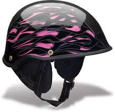 bell drifter half helmet in pink