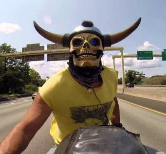Motorcycle Halloween