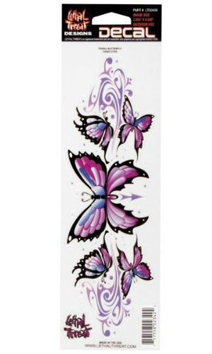 butterflies decals motorcycle graphic kit