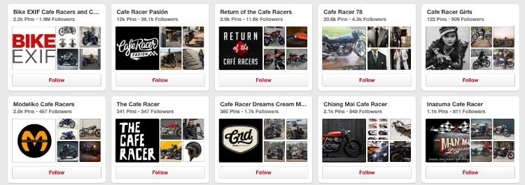 Cafe Racer Boards on Pinterest