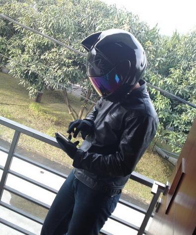 Bike Helmat Cat Ears