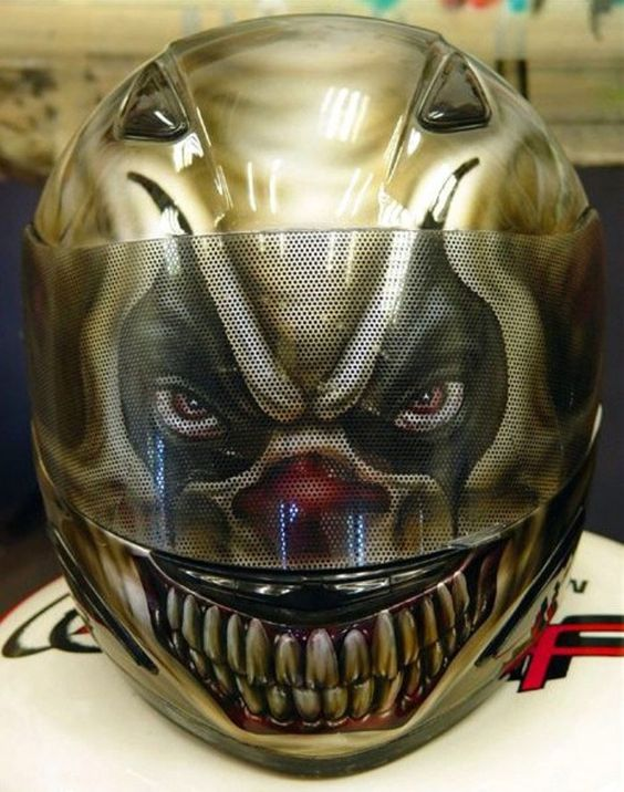 Clown Motorcycle Helmets