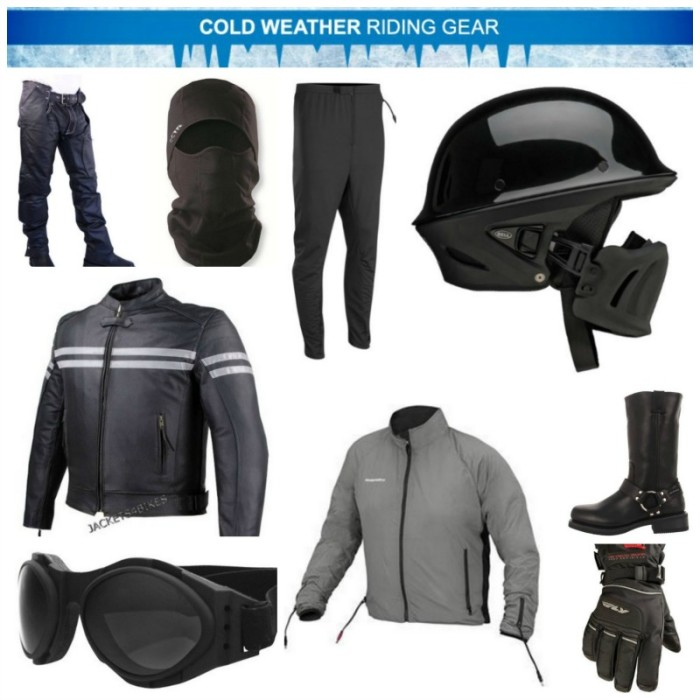 Cold Weather Riding Gear