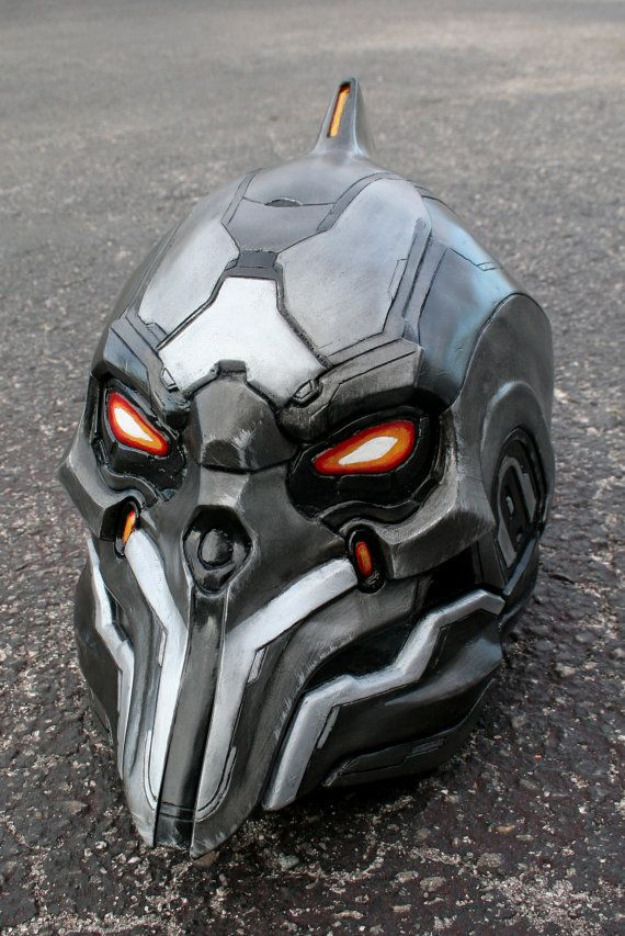 Full Motorcycle Helmet >> Motorcycle Helmets inspired by Video Games and Movies