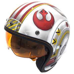 X Wing Fighter Pilot Star Wars Motorcycle Helmet