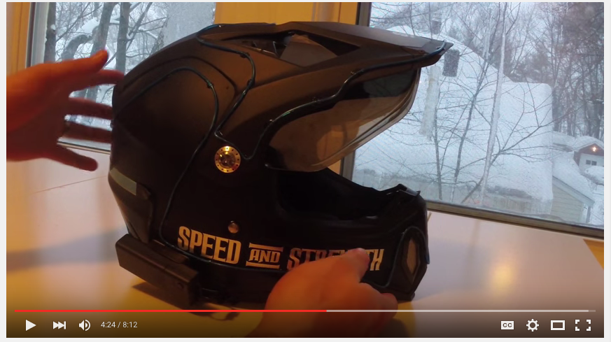 image 8 Connect Wires to Power Box LightMode Helmet Mod Install Review