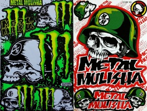 Metal Mulisha Decals Motorcycle Graphics Kit