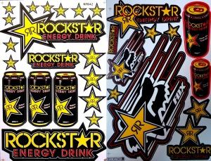 rockstar decals motorcycle graphics