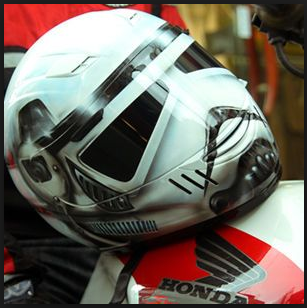Star Wars Motorcycle Helmets - I am one with the FORCE