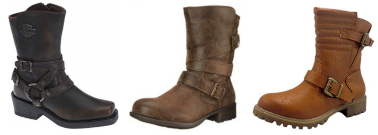 womens-short-motorcycle-boots
